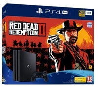 PlayStation 4 1 TB Pro + Red Dead Redemption 2 (PEGI)