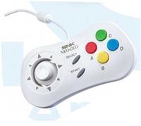 SNK Neo Geo mini  Gamepad, white
