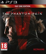 PS3 Metal Gear Solid V: The Phantom Pain -- Day One Edition (PEGI)
