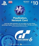 PlayStation Live Card EURO 10 -- Gran Turismo 6 In-Game-Währung (PEGI) (AT)