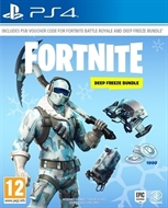 PS4 Fortnite -- Deep Freeze Bundle (Donwload Code) (PEGI)