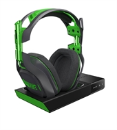 Astro Gaming A50 Headset, Wireless Dolby 7.1 Black - Green inkl. wireless MixAmp (XBox One, PC, MAC)