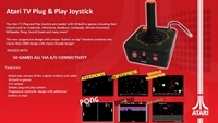 Atari Retro Plug & Play TV Joystick inkl. 50 Games