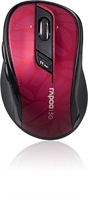 Rapoo - 7100P - Red - 5G Wireless High Level 6 key Mouse***