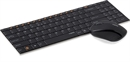 Rapoo - 9060 - Black - 2.4G Wireless Mouse and 2 Block Metal Keyboard Set Blade Series***