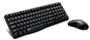 Rapoo - X1800 - Wireless Deskset 2.4Ghz Mouse and Keyboard, Black