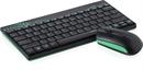 Rapoo - 8000 - Wireless Deskset, Black-Green*
