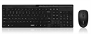 Rapoo - X8100 - Black - Wireless Optical Deskset