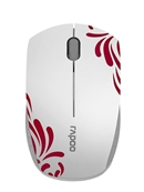 Rapoo - 3300P+ - White - Super Mini Wireless Optical Mouse***