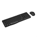 Rapoo - X1800S - Black - 2.4G Wireless Mouse and Keyboard Set