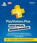PlayStation®Plus Live Card - 90 Tage (AT)