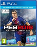 PS4 Pro Evolution Soccer 2018 (PEGI)