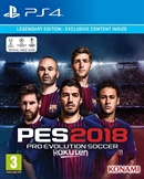 PS4 Pro Evolution Soccer 2018 -- Legendary Edition (PEGI)