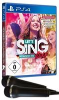 PS4 Let's Sing 2017 + 2 Mics (PEGI)