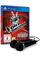 PS4 The Voice of Germany: Das offizielle Videospiel + 2 Mics (PEGI)