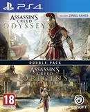 PS4 Assassin's Creed Odyssey + Assassin's Creed Origins (PEGI)