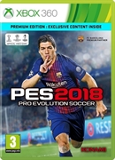 X360 Pro Evolution Soccer 2018 -- Premium Edition (PEGI)