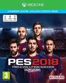 Xbox One Pro Evolution Soccer 2018 -- Legendary Edition (PEGI)