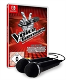 Switch The Voice of Germany: Das offizielle Videospiel + 2 Mics (PEGI)
