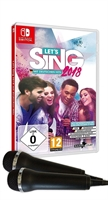 Switch Let's Sing 2018 mit Deutschen Hits + 2 Mics (PEGI)