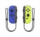 Nintendo Switch Joy Con 2er Set, Neon-Blau/Neon-Gelb