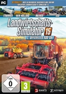 PC DVDROM Landwirtschafts Simulator 15 - Offizielles 2. (Add-On) (PEGI)