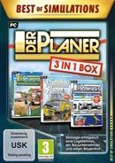 PC DVDROM Der Planer: 3 in 1 Box (Best of Simulation) (PEGI)