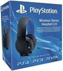 PS4 Wireless Stereo Headset 2.0, black