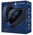 PS4 Wireless 7.1 Headset Gold VR optimiert, navy blue