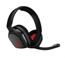 Astro Gaming A10 Headset (PC, MAC, PS4, Xbox One, Mobile), Grey/Red