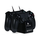 4Gamers PS4 Twin Play 'n' Charge Cables - black