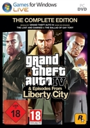 PC DVDROM Grand Theft Auto IV & Episodes from Liberty City -- Complete Edition (PEGI)