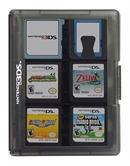 3DS Game Card Case 24, schwarz