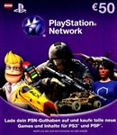 PlayStation Live Cards EURO 50