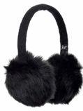 Kitsound Ohrwärmer Faux Fur, schwarz