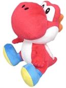 Nintendo Plüschfigur Yoshi, rot (17cm)