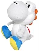 Nintendo Plüschfigur Yoshi, weiß (17cm)
