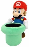 Nintendo Plüschfigur Mario mit Warp Pipe (25cm)