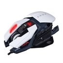 MadCatz R.A.T. Pro S3 Optical Gaming Mouse, White