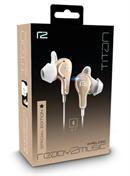 ready2music Titan BT 4.0 inEar Kopfhörer, gold-white -- Special Edition