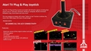 Atari Retro Plug & Play TV Joystick inkl. 50 Games