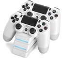 snakebyte PS4 Twin Charger 4, white